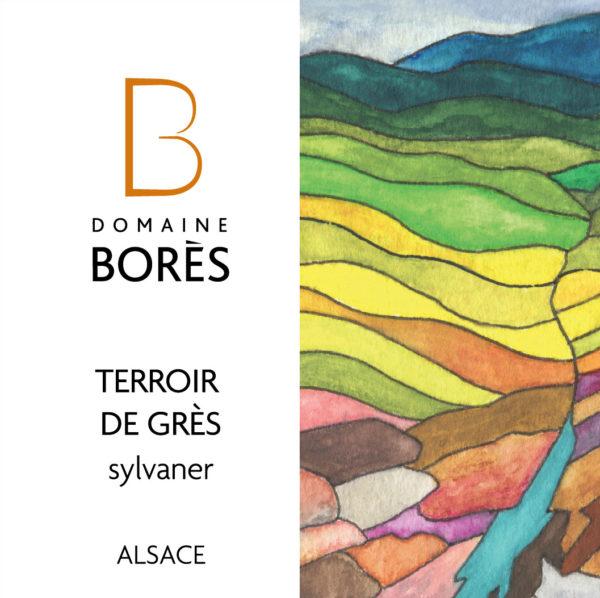 sylvaner_terroir_de_gres_vieilles_vignes_Vin d'Alsace Domaine Borès Reichsfeld