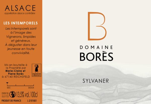 Sylvaner_Vin d'Alsace Domaine Borès Reichsfeld