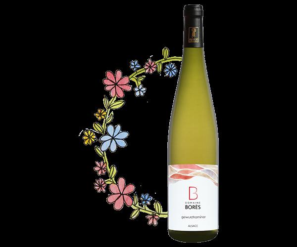 Gewurztraminer Vin d'Alsace Domaine Borès Reichsfeld