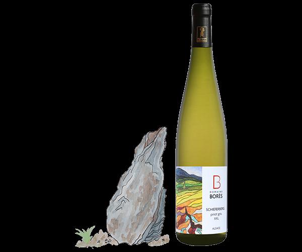 pinot_gris_xxl_schieferberg_2017 Vin d'Alsace Domaine Borès Reichsfeld