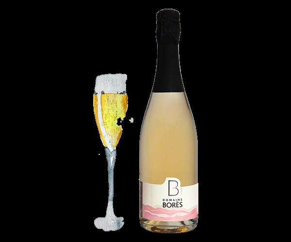 cremant_blanc_de_noirs_Vin d'Alsace Domaine Borès Reichsfeld