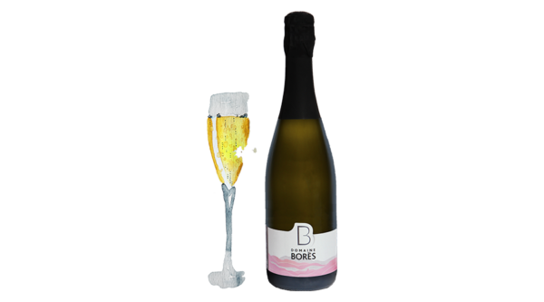 cremant_pinot_gris_sec Vin d'Alsace Domaine Borès Reichsfeld