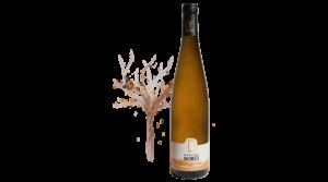 Gewurztraminer Vin d'Alsace Vendanges Tardives Domaine Borès Reichsfeld
