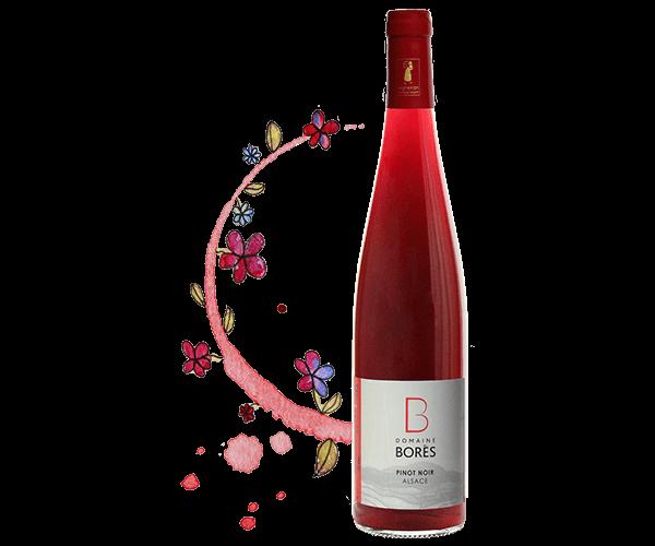 pinot_noir_alsace Vin d'Alsace Domaine Borès Reichsfeld