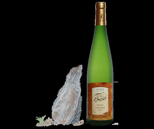 riesling_schieferberg_2015_Vin d'Alsace Domaine Borès Reichsfeld