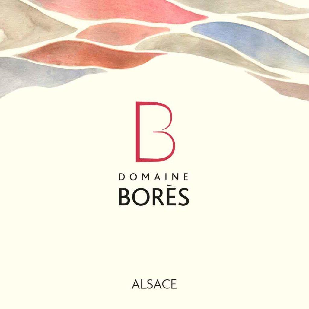 Etiquette de la gamme Intemporels du Domaine Borès