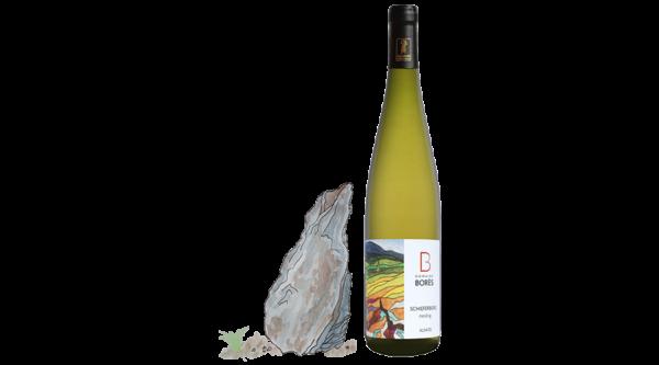 riesling_schieferberg_2017_Vin d'Alsace Domaine Borès Reichsfeld