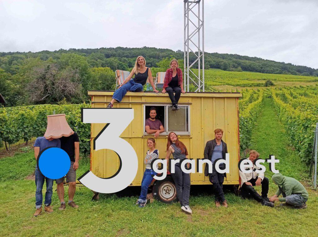 france 3 grand est Compagnie des insupportes Reichsfeld Soirs a Pressoirs 2021 Domaine Bores Schiste